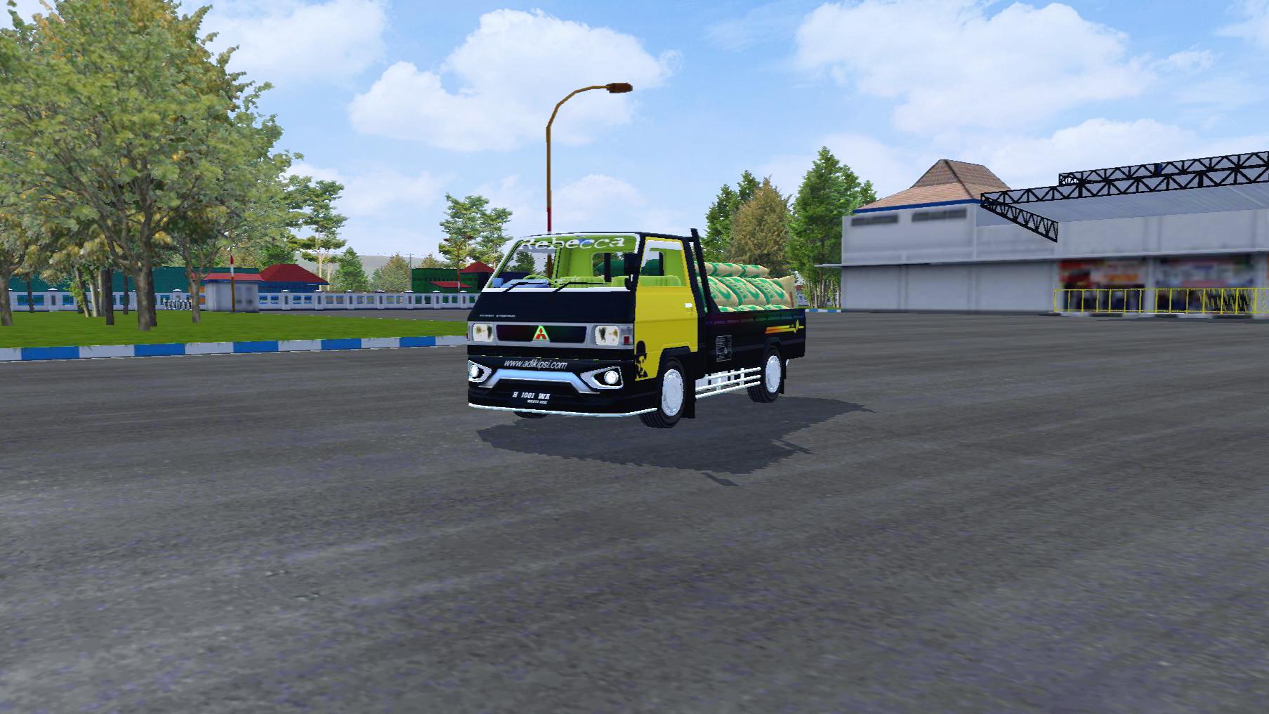 Mod dan livery pickup L300