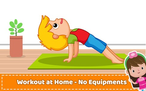 Yoga for Kids and Family fitness – Easy Workout Apk  Download For Android 6