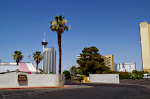 Die Einfahrt zu unserem Campingplatz - direkt am nördlichen Ende des Las Vegas Strips (unweit vom Stratoshpere Tower!)