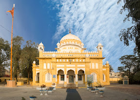 Main building of  Gurdwara Mall Ji Sahib , Nankana Sahib
