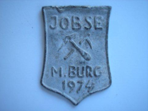 Naam: JobsePlaats: MiddelburgJaartal: 1974Boek: Steijn blz 62
