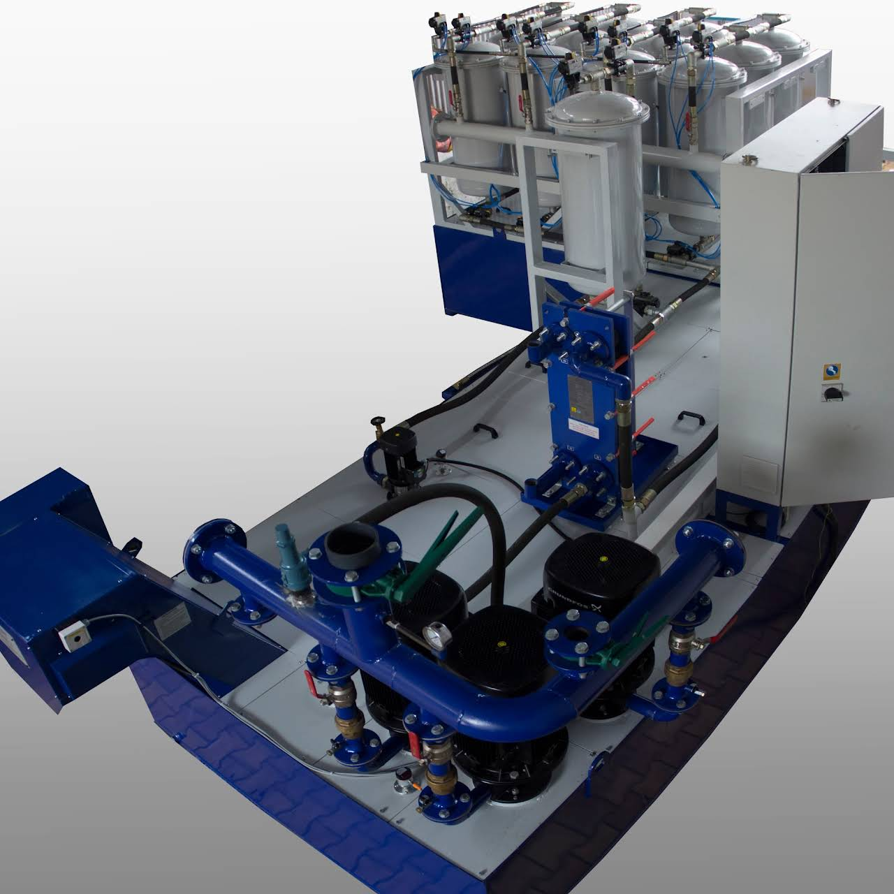 Transor India Pvt Ltd - Neat cutting oil filtration system