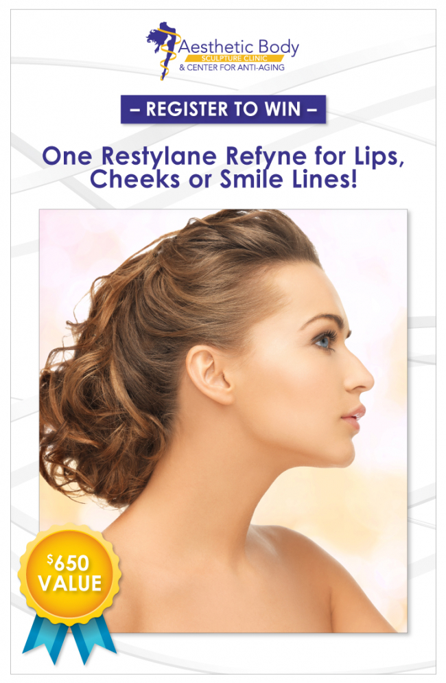Register to win Beauty Treatments and Injectables