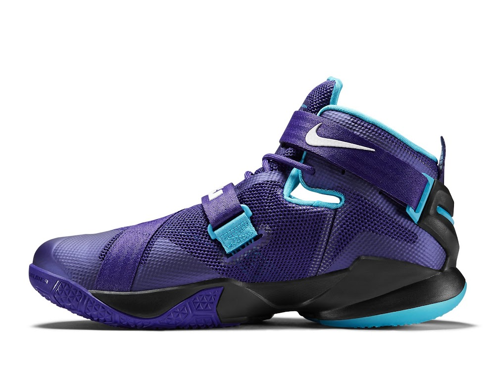 on sale 42edf 1bcf1 ... Available Now Nike LeBron Soldier 9 Summit Lake Hornets ...