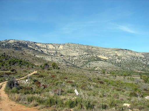 Senderismo en la Sierra d'Espaneguera