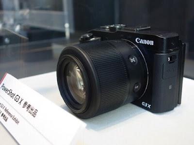 Canon PowerShot G3 Xの画像