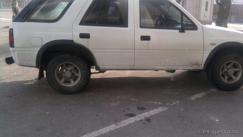 1993 Isuzu Rodeo Suv Specifications Pictures Prices