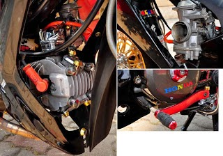 Modifikasi Supra X 100cc Minimalis