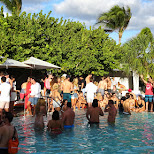 hyde beach pool party in Miami, Florida, United States