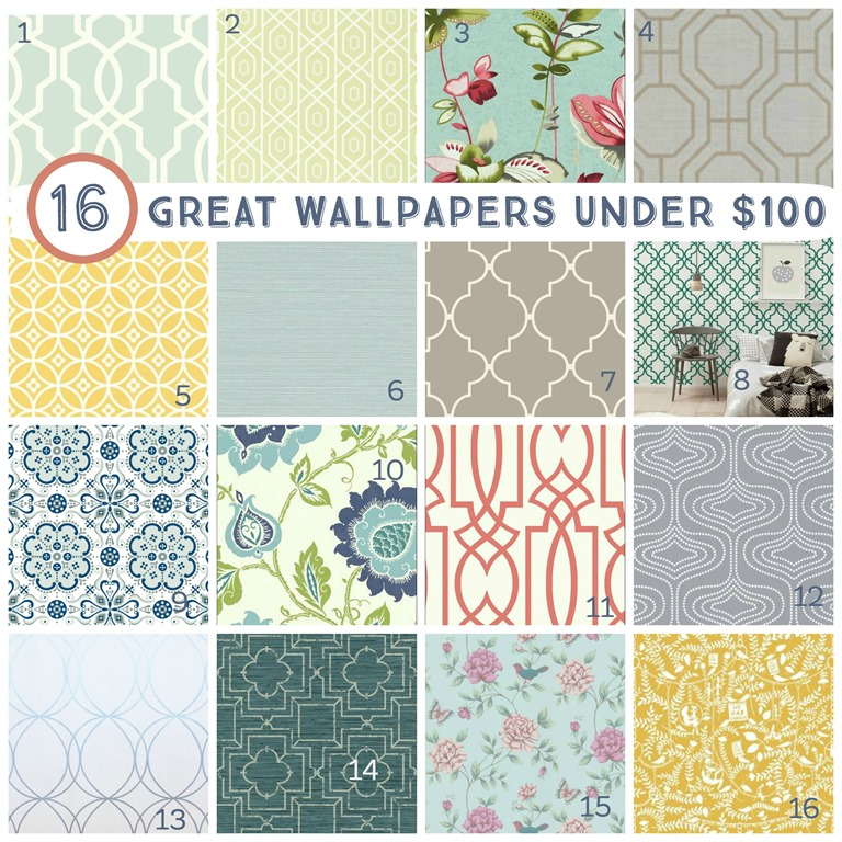 16 great wallpapers under $100