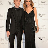 WWW.ENTSIMAGES.COM -  Tom Felton and Jade Olivia   arriving at       IWC Schaffhausen and BFI London Film Festival - private dinner at Battersea Evolution, London October 7th 2014Swiss watch brand and British Film Institute host party to celebrate their three year partnership.                                                Photo Mobis Photos/OIC 0203 174 1069