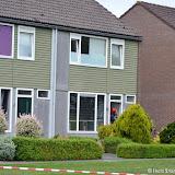 Dakbrand Scheepshellingstraat Oude Pekela - Foto's Teunis Streunding