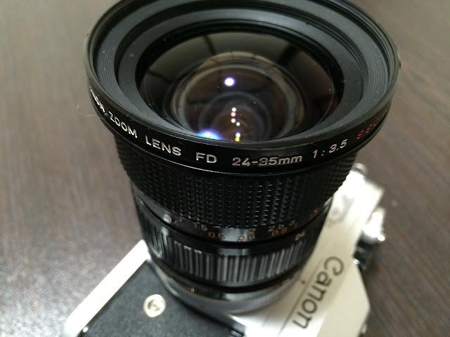 キヤノンfd24〜35mm f3.5 アスフェリカル