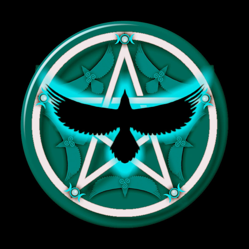 Teal Crow Pentacle, Celtic And Druids