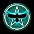 Teal Crow Pentacle