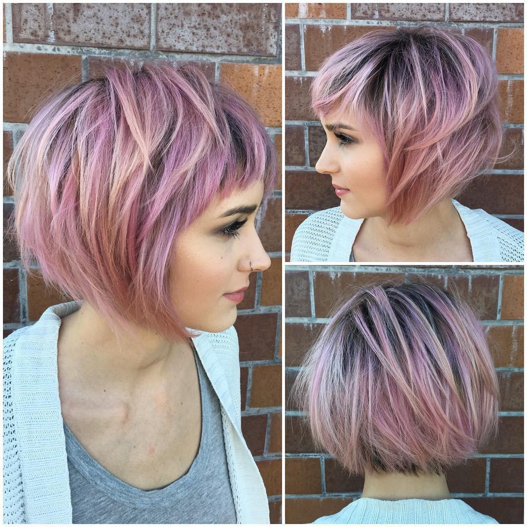 Trendy 2019 Short bob hairstyles-trendy celebrities look! 1