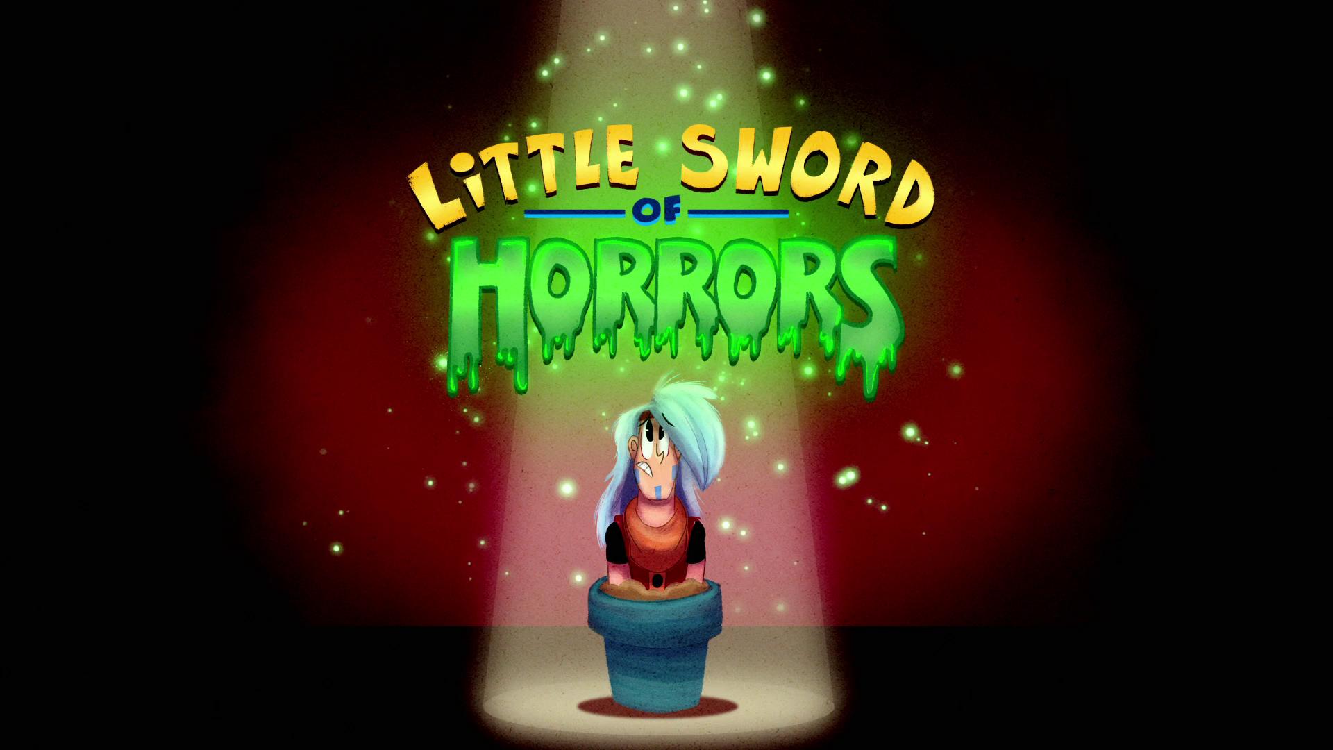 Poderosas Magiespadas - Pequena Espada dos Horrores