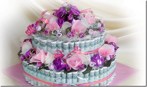 Торт из денег3