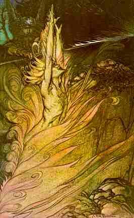Wotan Commands Loge, Asatru Gods And Heroes