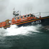 12 June 2011 - ALB during exercise in rough weather (southerly force 7, gusting 8, heavy rain, 4.5m seas). (Photo credit: Rob Inett)