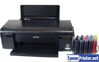 Reset Epson PX659 printing device with software