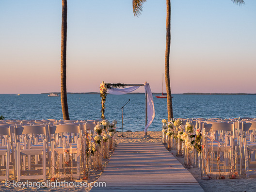 wedding packages key largo lighthouse beach weddings florida keys