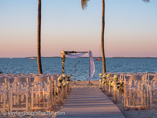 wedding packages key largo lighthouse beach weddings florida keys
