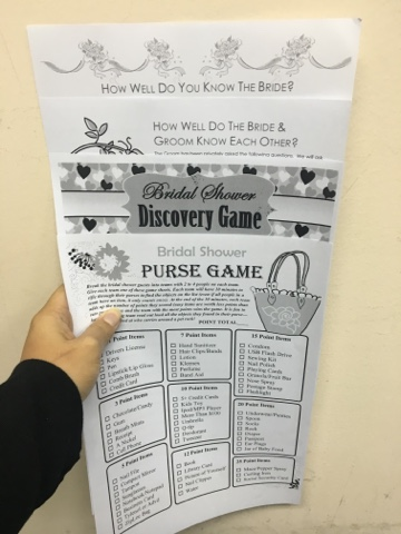 photograph regarding Free Printable Bridal Shower Games How Well Do You Know the Bride called Guidelines Cost-free Printables Bridal Shower/Bash Online games amirahzmy