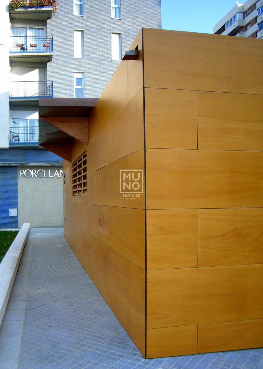 Pasarela madera restaurante madera chiringuito for Oficina turismo cadiz