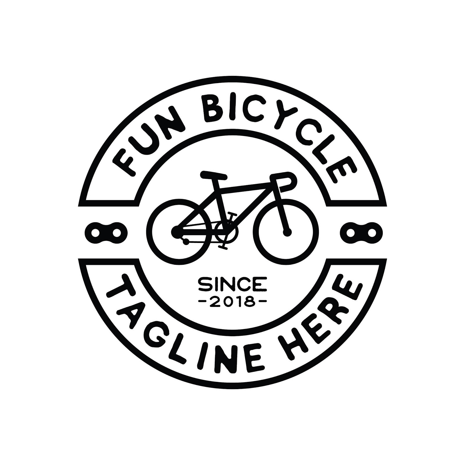 Hipster Bicycle Logo Design Inspiration Vector	 Free Download Vector CDR, AI, EPS and PNG Formats