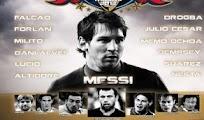 Video goles Messi amigos Estrellas internacionales 23 Junio