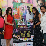 DJ Lemon Holi Poster Launch Photos