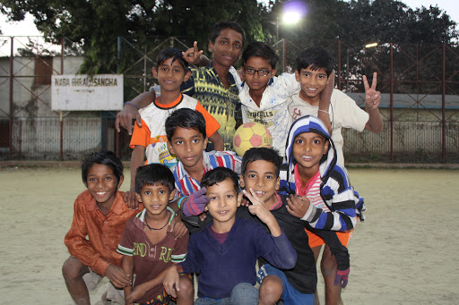 Outreach - Playing Soccer