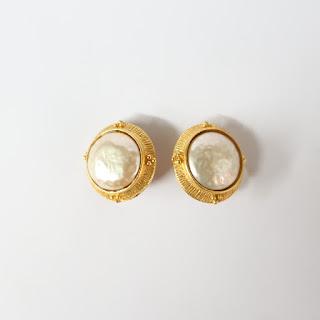 Jean & Kuniko Costume Earrings
