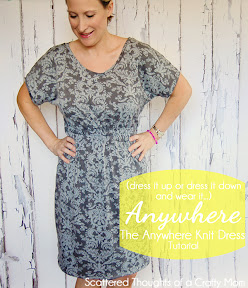 Women's Knit Dress Tutorial