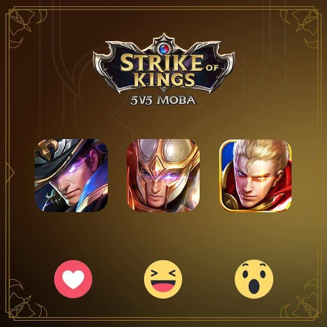 Strike of Kings Portre Seçimi/Ankete Katılın