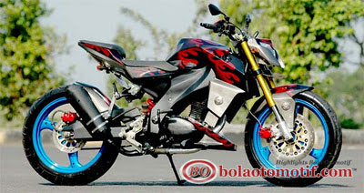 Modifikasi Honda CB 100 Jadul_2