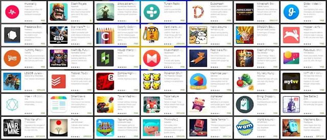 Google Play melihat perkembangan pengguna aplikasi maupun game Nominasi Aplikasi dan Game Android Terbaik Google Play Awards 2016
