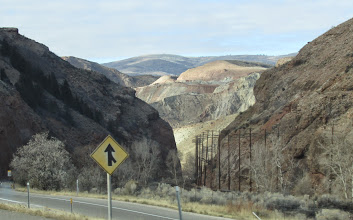 Photo: View from the road, Utah.