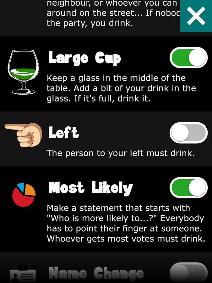 Wheel of Drinking- screenshot