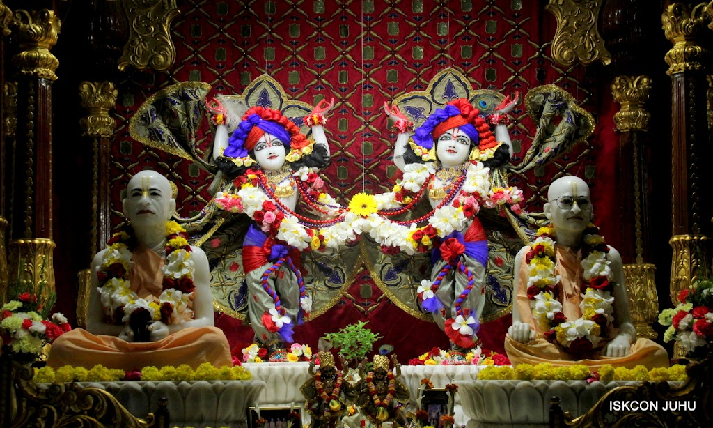 ISKCON Juhu Sringar Deity Darshan on 24th June 2016 (38)