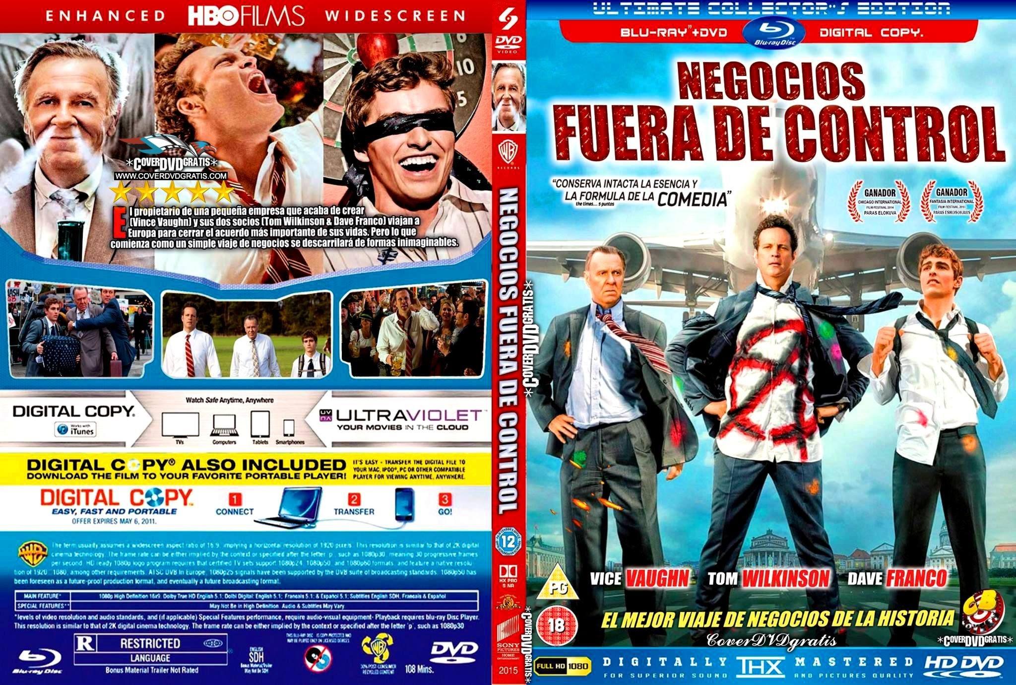 Negocios Fuera De Control 2015 Caratula Dvd Archivos