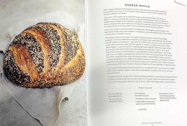 Seeded Boule recipe from the book Seven Spoons by Tara O'Brady
