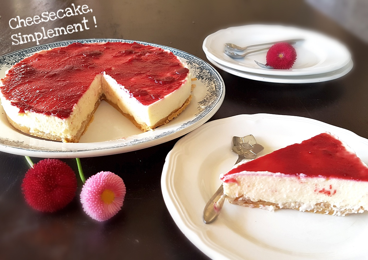SAVEURS D'ICI - COOK ENJOY: THERMOMIX: Cheesecake ...