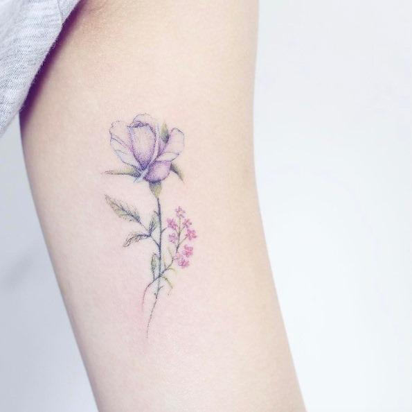 este_floral_delicado_pedaço