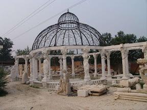 Column, Dome, Exterior, Gazebo, Gazebos, Ideas, Landscape Decor, Natural Stone, Statue