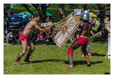 GeoXantike 2015 - Gladiatoren im Kampf
