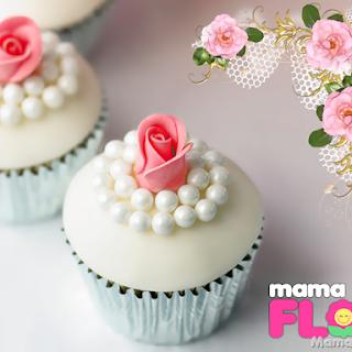 Cupcakes decorados para Bodas, paso a paso