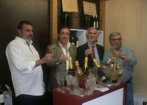 Vinhos e espumantes à prova no Festival Nacional de Gastronomia