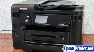 Epson WorkForce WF-3541 Waste Ink Pads Counter Reset Key